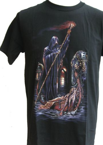 The Last Ride OF The Dead T Shirt With Large Back Print